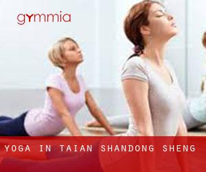 Yoga in Tai'an (Shandong Sheng)
